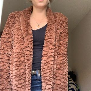 🍂FALL HAUL🍁 Faux fur jacket